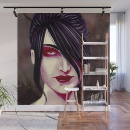 The witch of the wilds - Morrigan Wall Mural