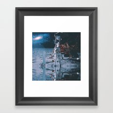 Project Apollo - 9 Framed Art Print