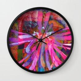 Psyche Floral Burst Wall Clock