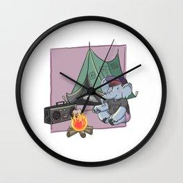 EmoPhant Wall Clock