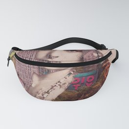 Vintage Woman Built By New York City 2 Fanny Pack