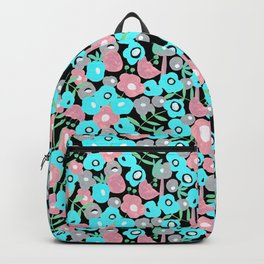 Ditsy Bloom in the night Backpack