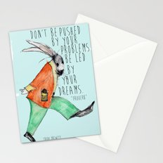 Be led By Your Dream Stationery Cards