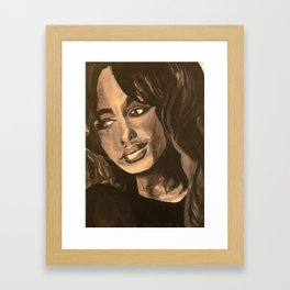 Normal Girl Framed Art Print