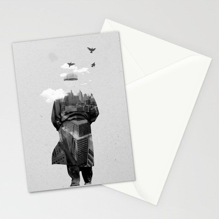 Get away from town Stationery Cards