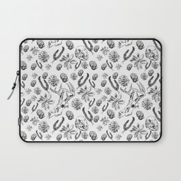 Skulls and Succulents Laptop Sleeve