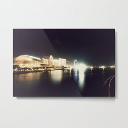 the other side of singapore Metal Print