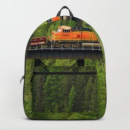 BNSF Going Over Goat Lick Creek Backpack