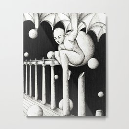 Stuck in architecture Metal Print