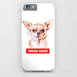 Throw Shade by BNVDO iPhone Case