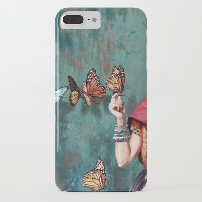 frida kahlo butterfly iphone case