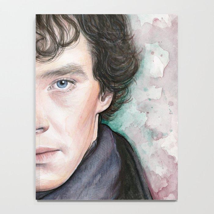 Sherlock Holmes Sherlocked Benedict Cumberbatch Notebook