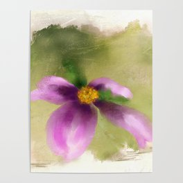 Purple Dogwood Poster