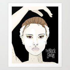 The Black Swan Art Print