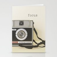 focus Stationery Cards featuring Focus by ShadeTree Photography