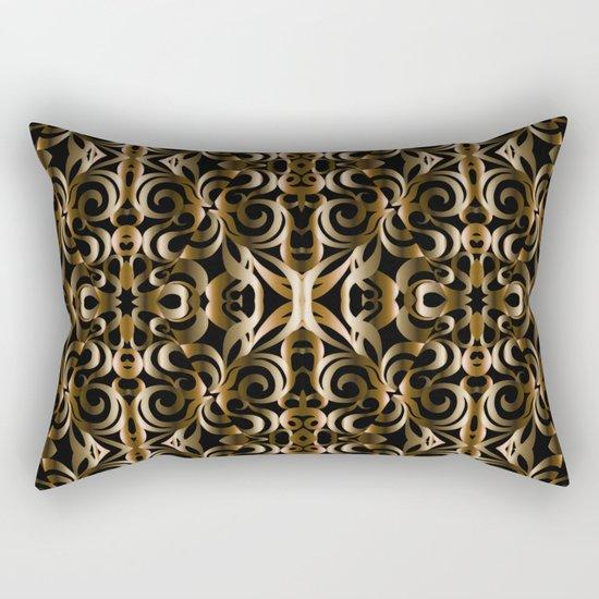 Floral Wrought Iron G14 Rectangular Pillow