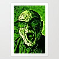 scream Art Prints featuring SCREAM! by Silvio Ledbetter