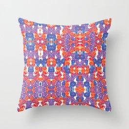 Buddha Garden Bright Throw Pillow