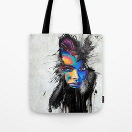 Facial Expression Tote Bag