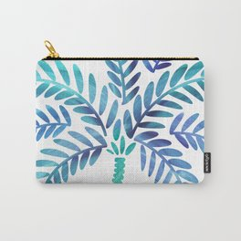 Whimsical Watercolor Palm Tree Carry-All Pouch