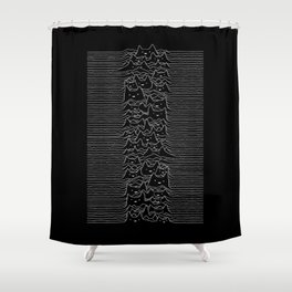 Furr Division Shower Curtain