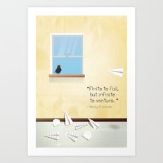 Of dreams and things Art Print
