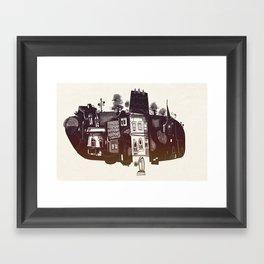 Borough Framed Art Print