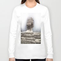 egypt Long Sleeve T-shirts featuring Egypt by Alex Alexandru