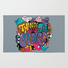 Things Might Get Weird Rug