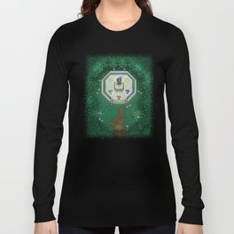Zelda Mastesword Pixels Long Sleeve T-shirt