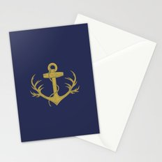 Antlered Anchor (option) Stationery Cards