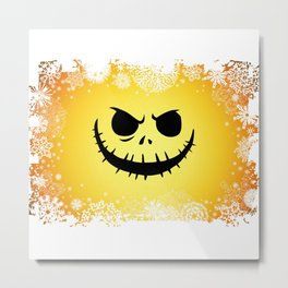 PUMPKIN CHRISTMAS Metal Print