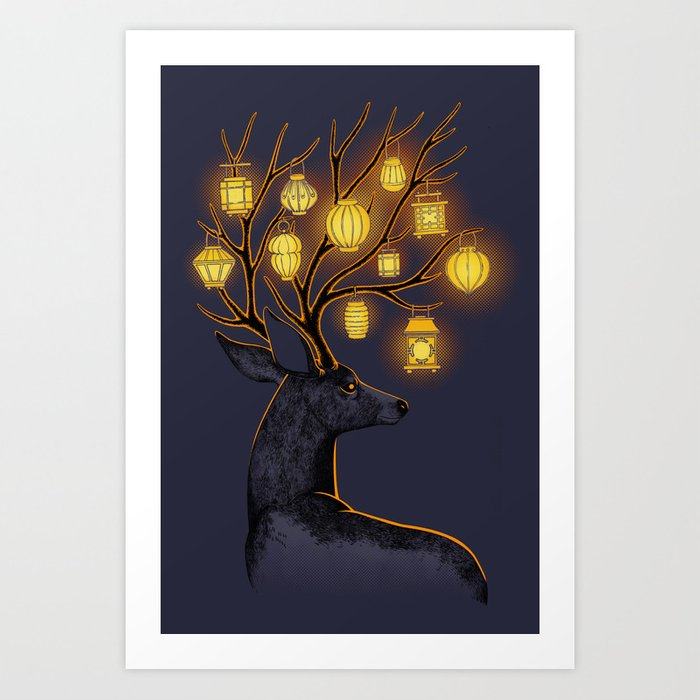 Dream Guide Art Print