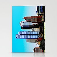 pittsburgh Stationery Cards featuring Pittsburgh Morning by Biff Rendar