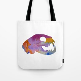 Cat Skull Art Tote Bag