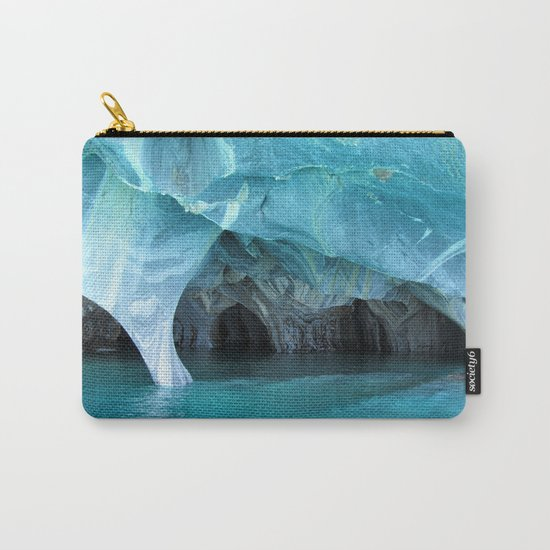 Marble blue 3 Carry-All Pouch