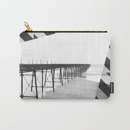Victorian Pier - diagonal geometric Carry-All Pouch