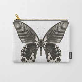 Mono Scarlet Mormon Butterfly Carry-All Pouch