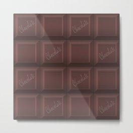 Milk chocolate #Milk #chocolate Metal Print