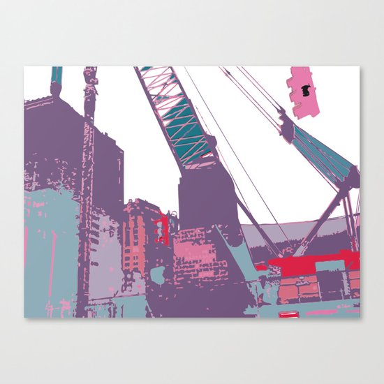 NY#3 (Lost Time) Canvas Print