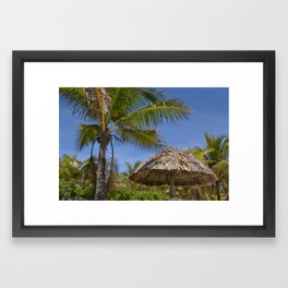 Postcard Paradise 4 Framed Art Print