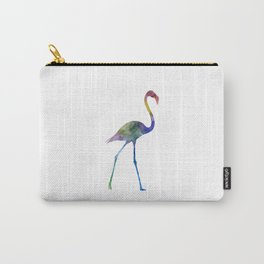Flamingo 01 in watercolor Carry-All Pouch