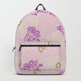 """Curly hair"" clone Backpack"