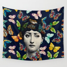 The Butterfly Queen Wall Tapestry