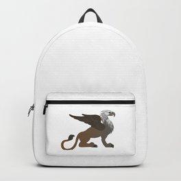sitting griffin, fantasy Backpack