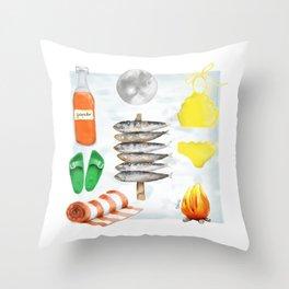 San Juan kit Throw Pillow