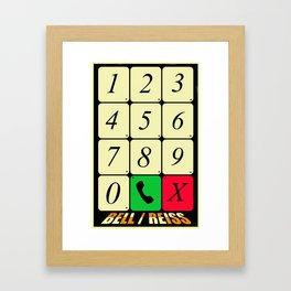 Bell. Framed Art Print