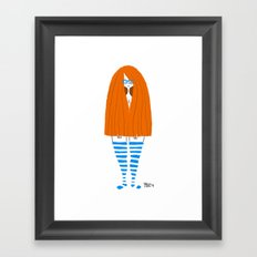 New Socks Framed Art Print