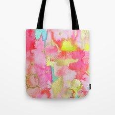 Pink Links Tote Bag