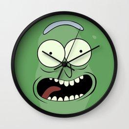 Pickle Rick Wall Clock